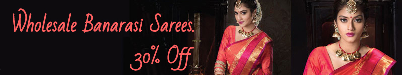 Wholesale Banarasi Saree